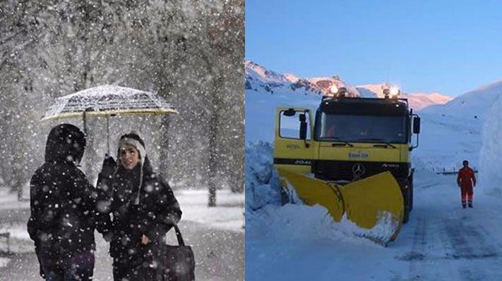Llega la 'borrasca Bruno': el año se despide con un duro temporal de frío y nieve