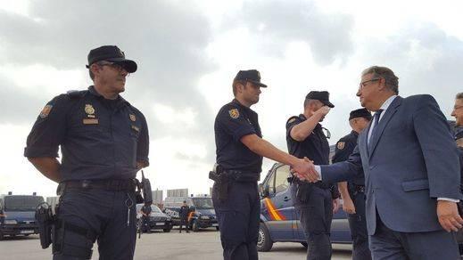 El dispositivo policial de la 'Operación Copérnico' saldrá de Cataluña antes de fin de año