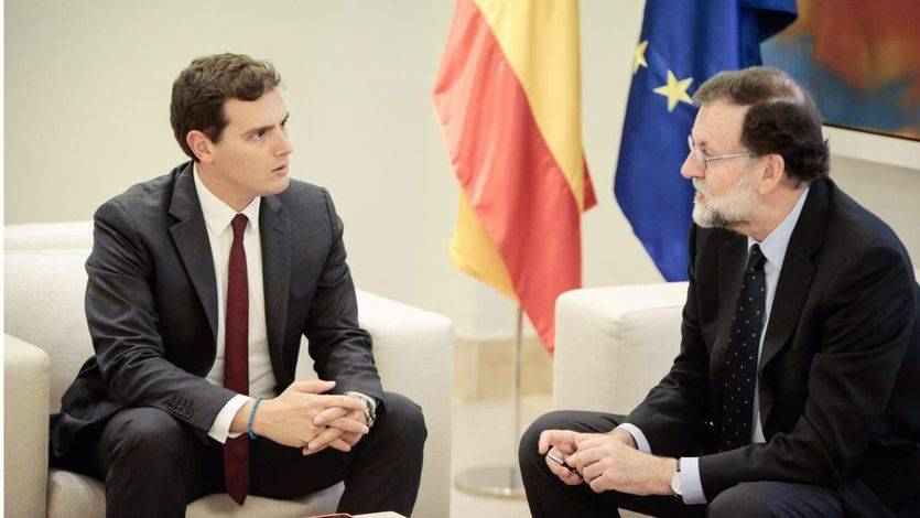 Rajoy y Rivera no sacan la 'calculadora' en Moncloa para presionar a Arrimadas