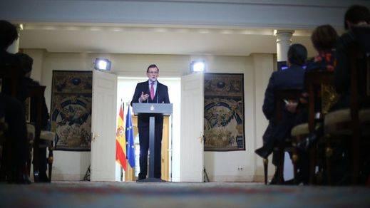 Balance anual de Rajoy: descarta una crisis de Gobierno y se refugia en la mejoría de la economía