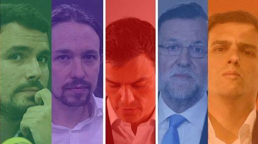 El año político acaba con Ciudadanos como alternativa al PP, el PSOE semihundido y Podemos perdido