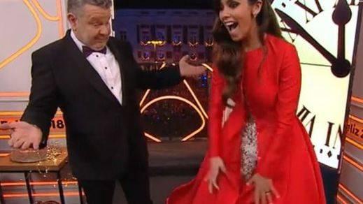 Pedroche dio las Campanadas con un vestido 'feminista'...