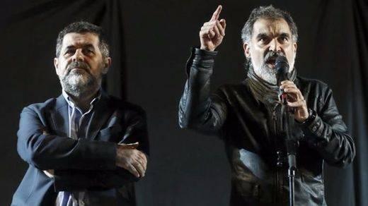 Proponen a Jordi Sanchez y Jordi Cuixart para el Premio Nobel de la Paz