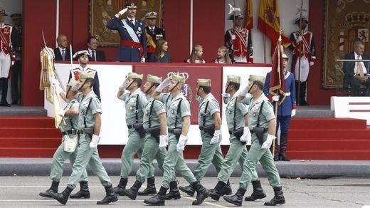 Los legionarios gordos se hacen virales en las redes: ¿está la Legión a dieta?