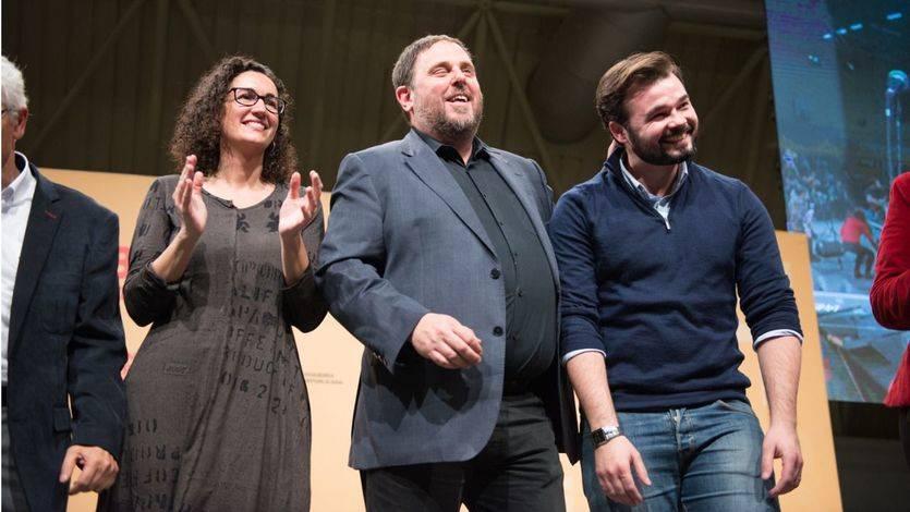 Si Puigdemont no regresa, 'el plan B es Oriol Junqueras', según Rufián