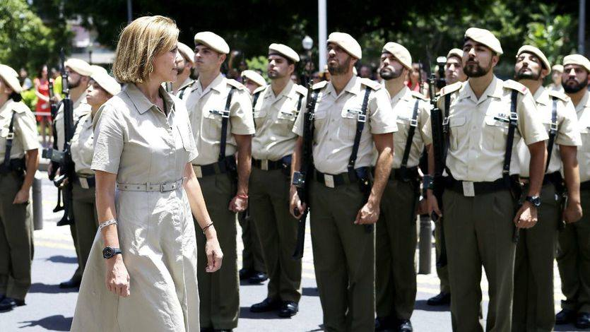 La ministra de Defensa ha visitado el Cuartel General del Mando de Canarias en Santa Cruz de Tenerife