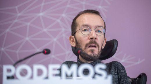Echenique desmiente que Podemos se esté planteando cambiar de nombre