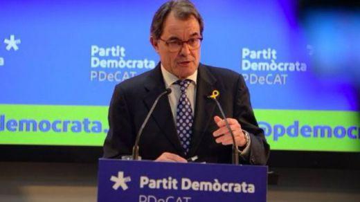 Los 2 motivos del nuevo 'paso al lado' de Artur Mas, que deja la presidencia del PDeCAT