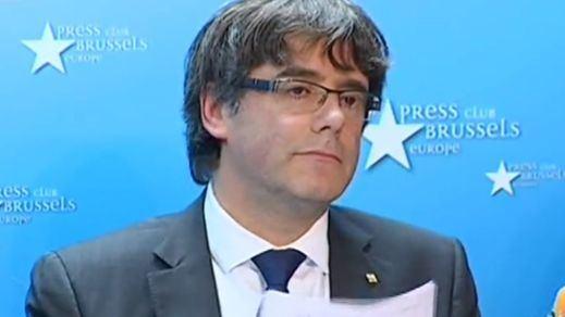 > Puigdemont vuelve a implicar a Europa para ser investido desde Bruselas