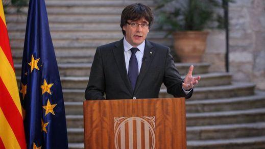 El 'pacto de Bruselas': Puigdemont y Rovira acuerdan una investidura a distancia