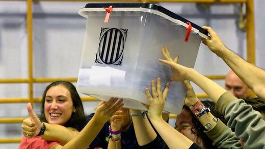 El referéndum de Cataluña se financió en parte con fondos del Estado