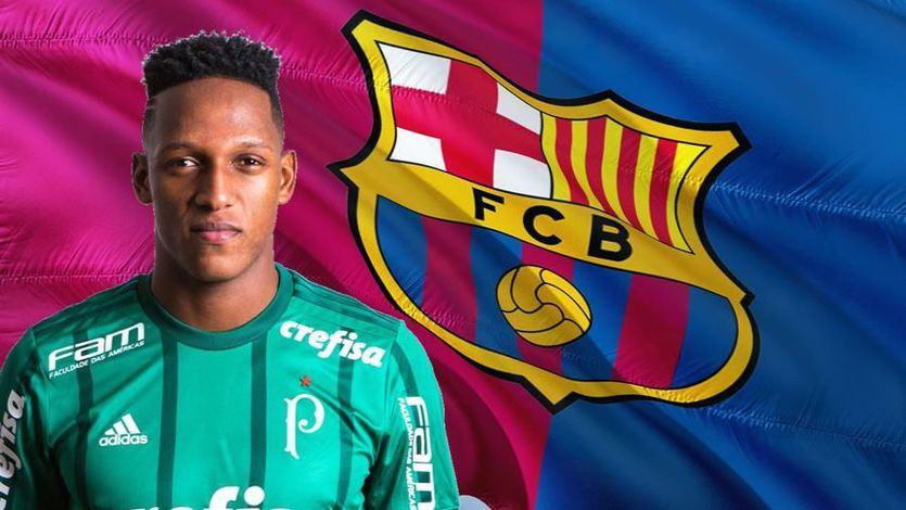 El Barça sigue pescando fuera de La Masía y su cantera: Yerry Mina, nuevo defensa culé