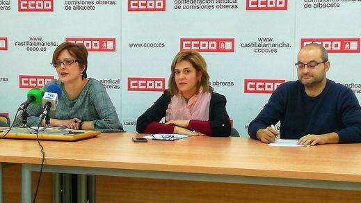 Carolina Vidal, Carmen Juste y Juan José Jiménez