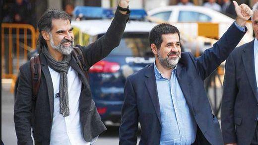 El 'giro' estratégico de los Jordis ante el Supremo para intentar salir de prisión