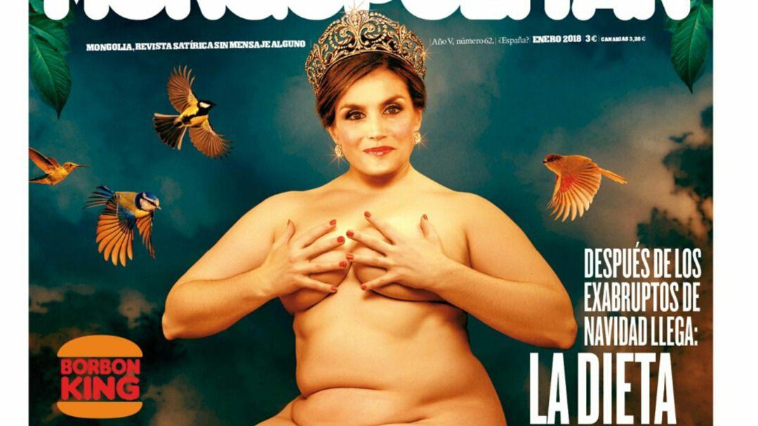 La Revista Mongolia Dedica Su Primera Portada Del Año A La Reina