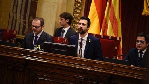 El nuevo president del Parlament, Roger Torrent, exige