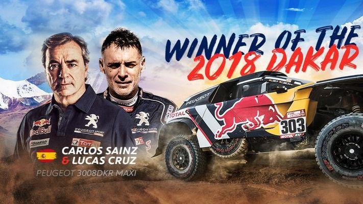 Carlos Sainz gana su segundo Dakar