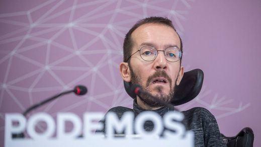 Echenique: 'La cloaca del PP interpela a Ciudadanos y al PSOE'