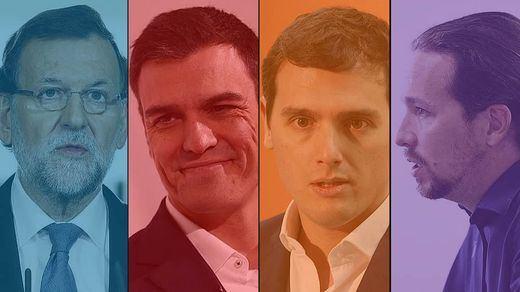 El PSOE 'pisa los talones' a Ciudadanos, que se consolida como primera fuerza