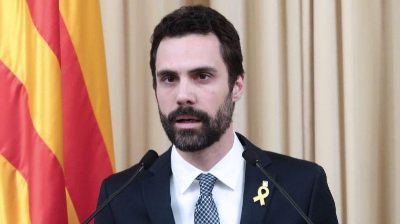 Torrent propone a Puigdemont para la investidura: 'Tiene toda la legitimidad'