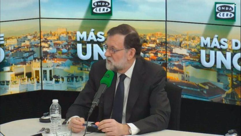 Rajoy entrevistado en Onda Cero