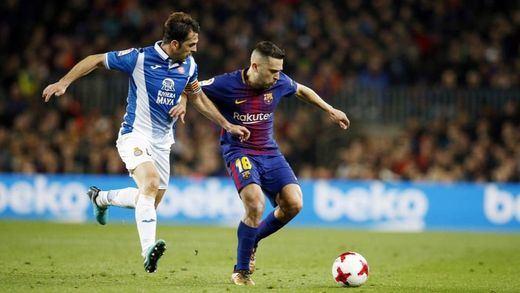 El Barça, en semifinales de Copa tras la remontada ante el Espanyol