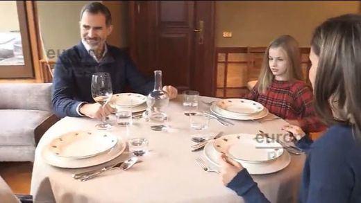 Imágenes en familia para el 50 cumpleaños del rey Felipe VI