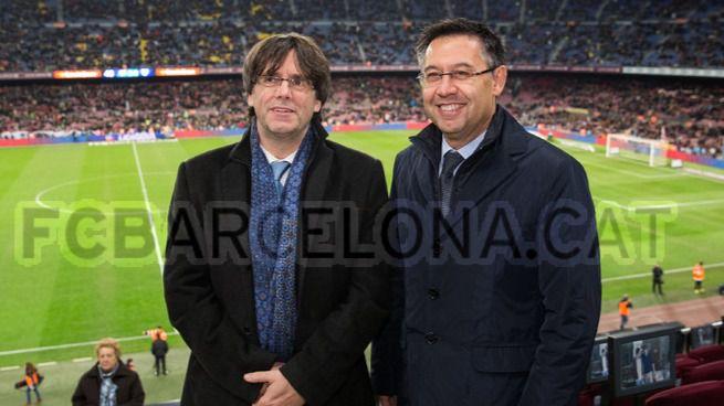 El Govern independentista exigió al Barça que contribuyera a la causa con más de 3 millones