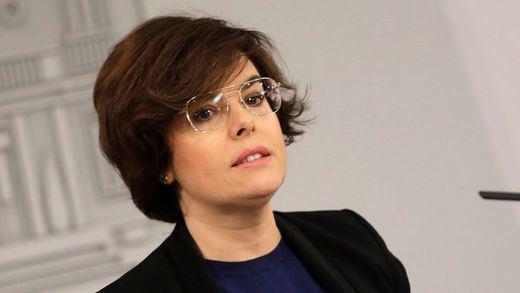 La vicepresidenta Sáenz de Santamaría no se siente