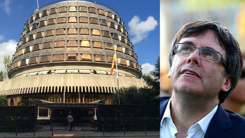 El Constitucional suspende la investidura de Puigdemont por la 'urgencia excepcional'