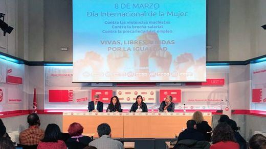 Los sindicatos convocan una huelga de 2 horas el próximo 8 de marzo, Día Internacional de la Mujer