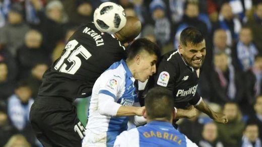 El Sevilla pierde la ocasión de dejar encarrilada la final de Copa ante el Leganés (1-1)