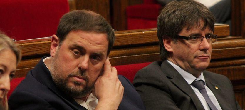Oriol Junqueras propone desatascar la situación catalana con una presidencia 'bicéfala' de la Generalitat