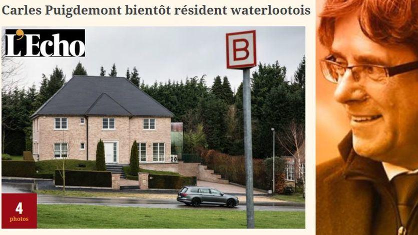 Puigdemont seguirá en Bélgica: alquila una mansión en Waterloo por más de 4.000 euros al mes