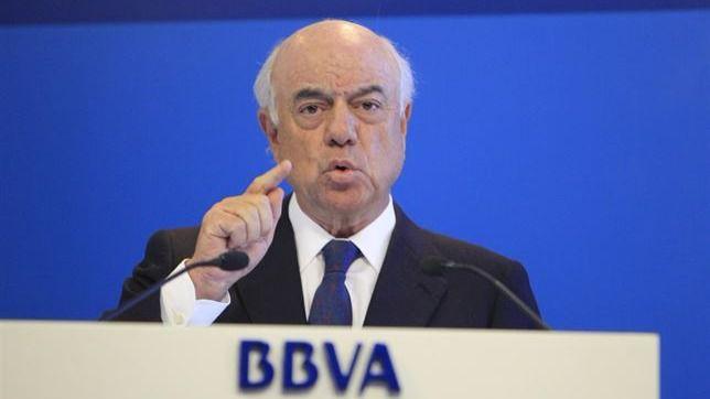 Francisco González dejará la presidencia del BBVA en 2019