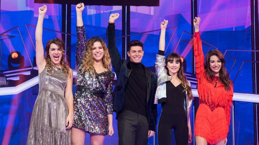 'Operación Triunfo' se prepara para la gran final: los finalistas son Aitana, Alfred, Amaia, Ana Guerra y Miriam