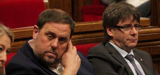 ERC rechazó el pacto para investir a Puigdemont y activar
