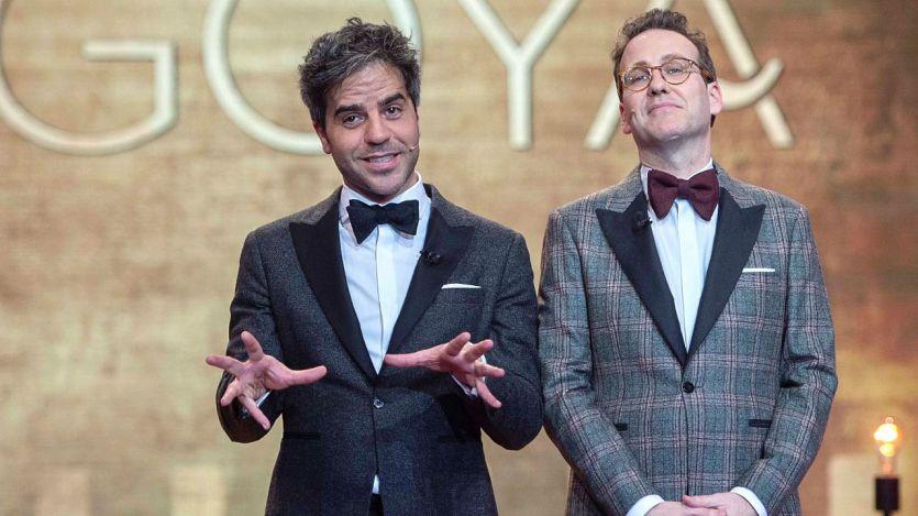 Joaquín Reyes y Ernesto Sevilla, presentadores de los Premios Goya 2018