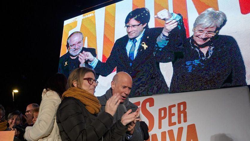 Puigdemont negoció ayer con ERC una manera 'efectiva' de conseguir la investidura y formar gobierno nacionalista