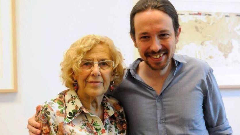Iglesias presiona a Carmena para que acompañe a Errejón en Madrid