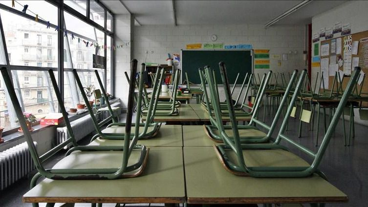 CCOO denuncia el frío que sufren los trabajadores en los institutos fuera del horario lectivo