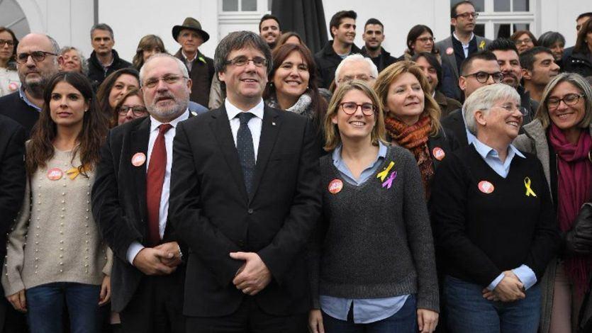 ERC y la CUP discrepan con la hoja de ruta de Puigdemont