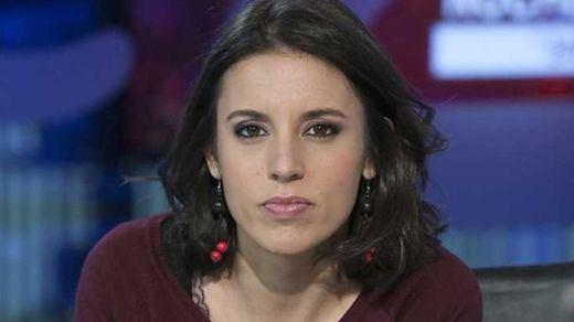 Irene Montero, de nuevo diana de los ataques más sexistas y duros
