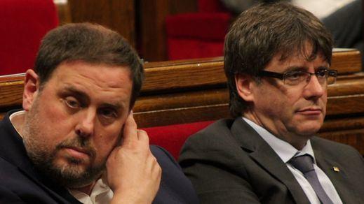 > ERC 'abandona' a Junts per Catalunya en su empeño por investir a Puigdemont a distancia