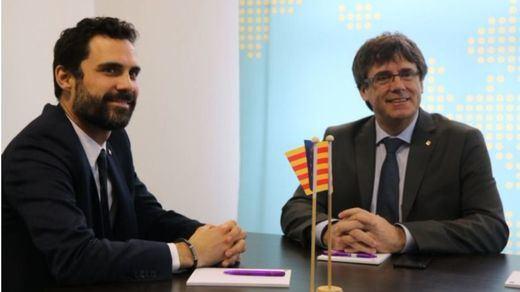 > Torrent recurre al Tribunal Europeo de Derechos Humanos como vía para investir a Puigdemont