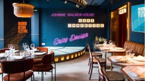 Johnnie Walker House llega a España y se convierte en la sede oficial del afterwork del Madrid Design Festival