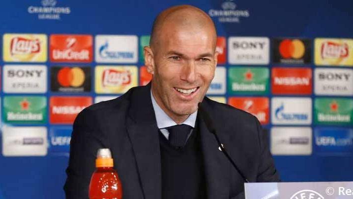 Zidane vuelve a sonreír y su flor resucita: 'Por algo este club tiene 12 Copas de Europa'