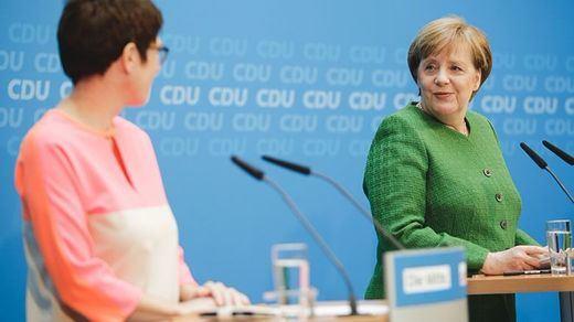 Apunten este (difícil) nombre: Annegret Kramp-Karrenbauer; así es la sucesora de Merkel