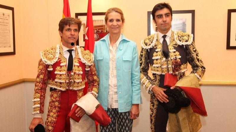 Infanta Elena: 'Amar los toros es amar, en una de sus muchas facetas, a esta España donde cabemos todos'