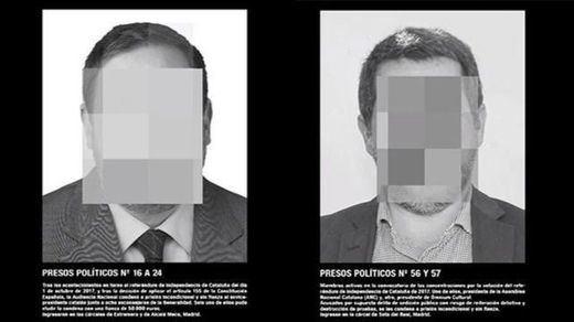 La obra censurada en ARCO 'Presos políticos', vendida por 96.000 euros, busca museo que la exponga
